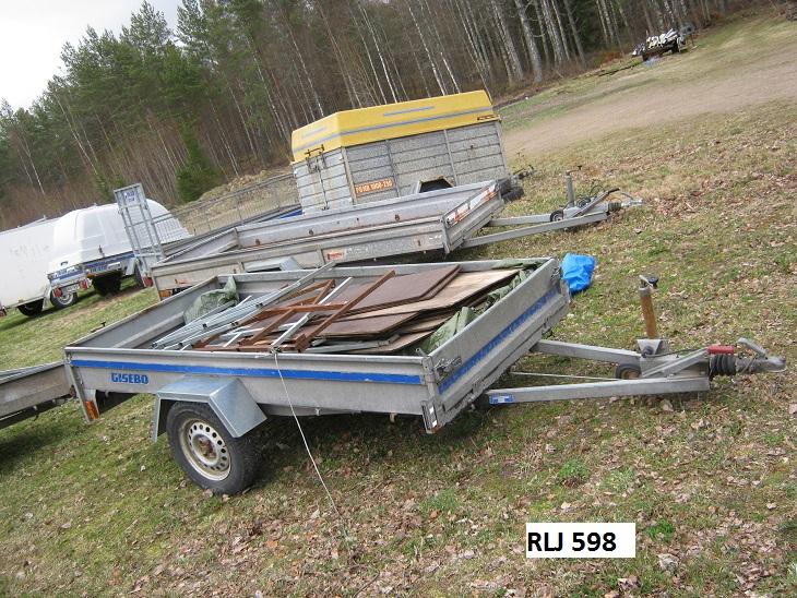 Begagnade släpkärror jönköping